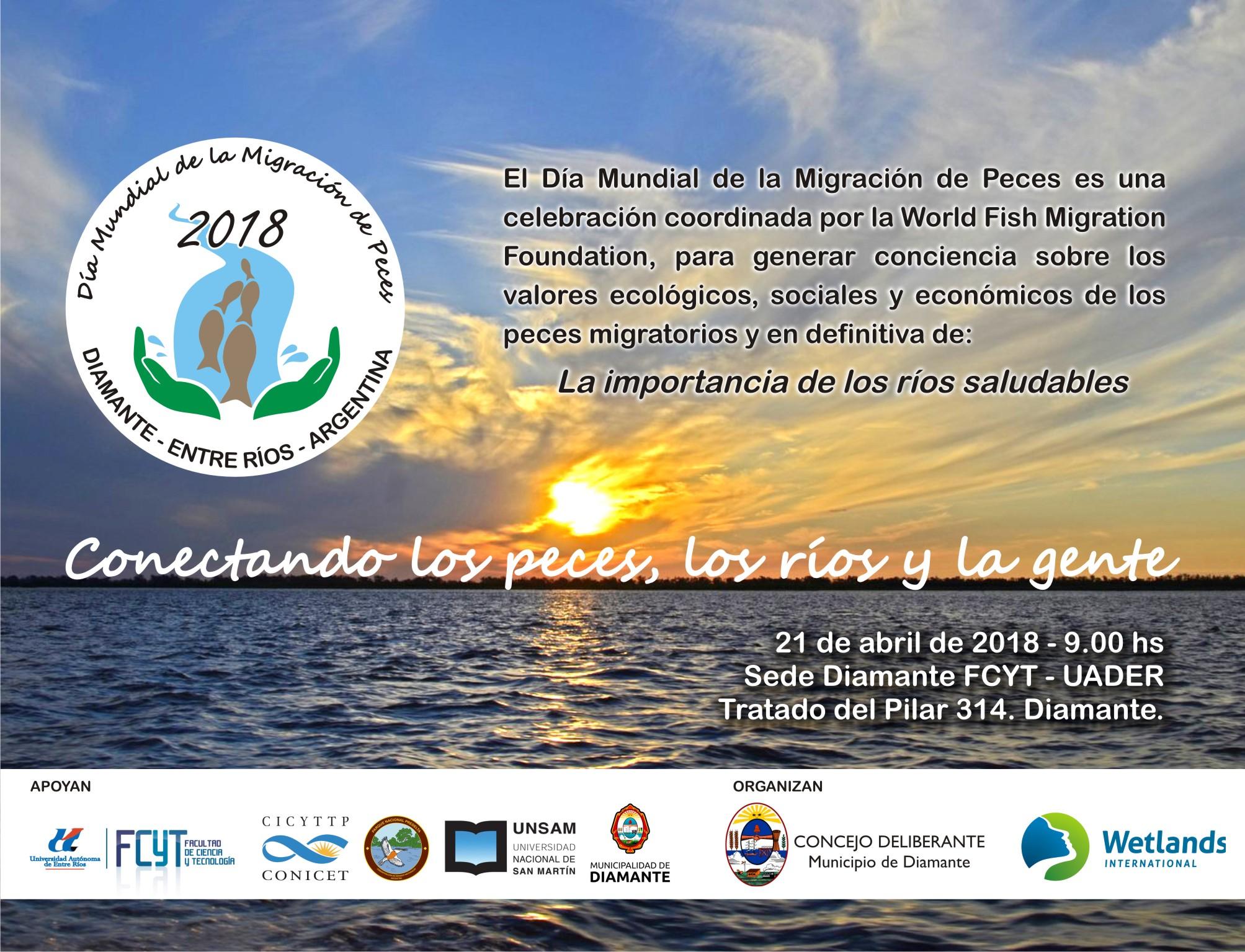 Celebración del Día Internacional del Pez Migrador - Wetlands ...