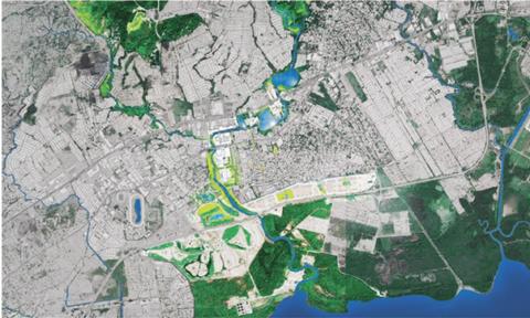 Infraestructura Azul Verde Para La Adaptación Al Cambio